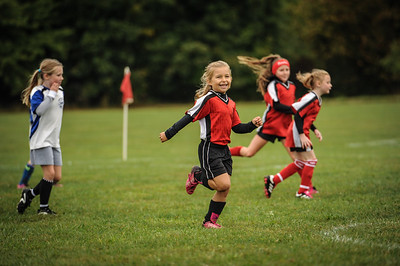9-08-18 Bluffton U8 Lady Fire vs LB