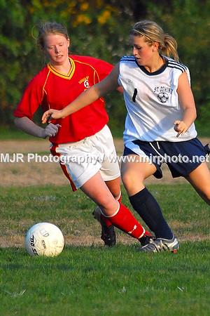 Sacred Heart vs. St Dominic's Girls Varsity Soccer (10-04-06)