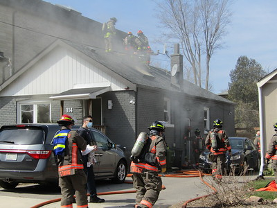 April 7,2021 - Working Fire - 114 Denton Ave.