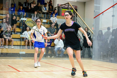 2015-02-13 Kim Krayacich (Amherst) and Sarah Zhang (Wellesley)