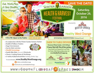 Farm to Table Dinner - Winter Garden Health & Harvest Festival