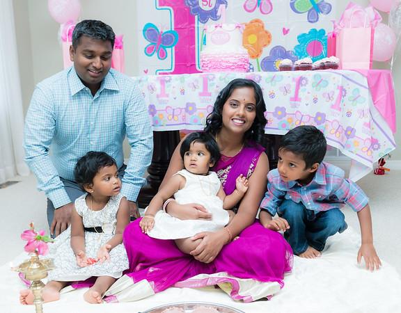 Meera 1st Birthday