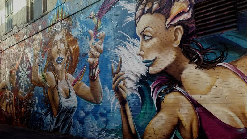 Mall Mural Art