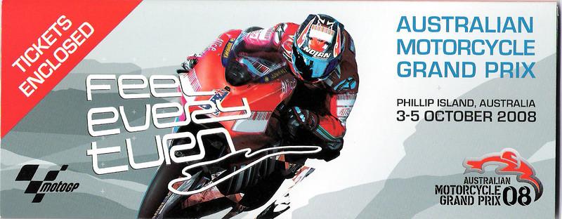 Phillip Island MotoGP 2008