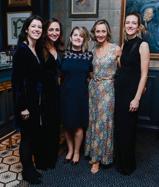 Photographed at Saturday's Respect charity ball in killiney fitzpatrick hotel were Catherine Doyle, Caroline Clifford, Pauline Dolan, Denise Moppett and Julie Hamilton.