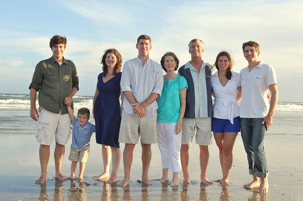 Ocean Isle NC Beach Portraits August 4