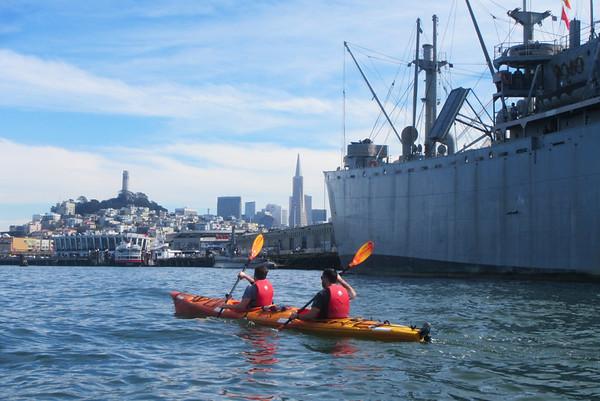 SF Bay Kayak: Mar 14, 2015
