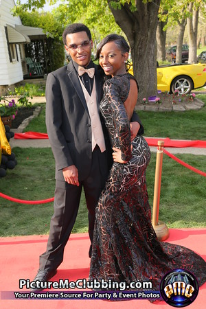 Prom for Deja and Gregory l 5-8-15 Friday