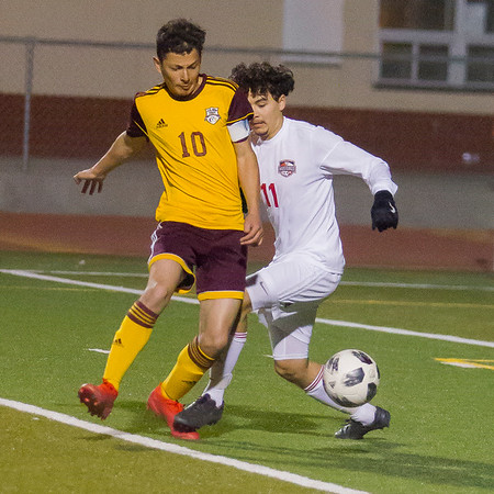 Tulare Western at Tulare Union Boy's Soccer 2-5-2020