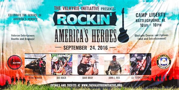 ROCKIN` AMERICA`S HEROES