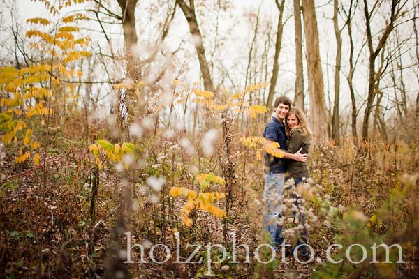 Jeannine and Eddie Color Engagement Photos