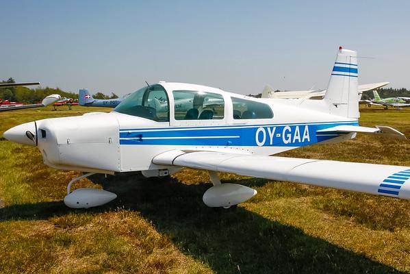 OY-GAA - Grumman-American AA-5 Traveler