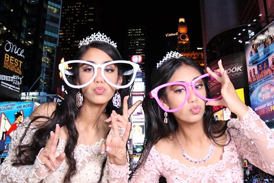 Sweet 16 Saima and Sameera Photobooth