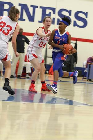 Girls' Varsity Basketball vs. St. Paul's School | December 8