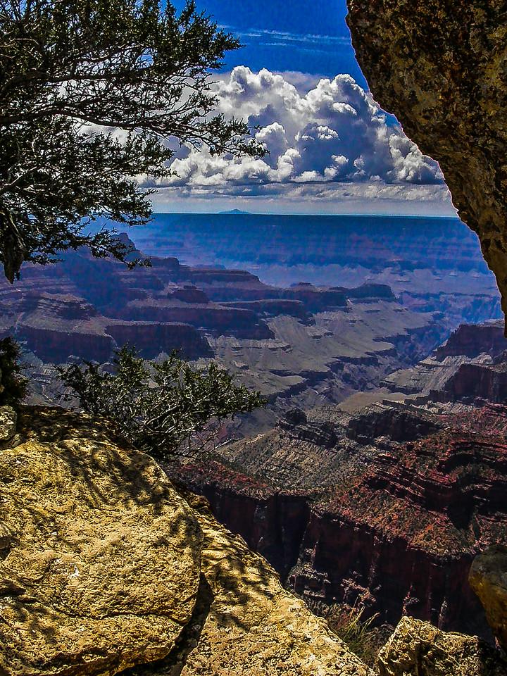 美国大峡谷,自然奇观