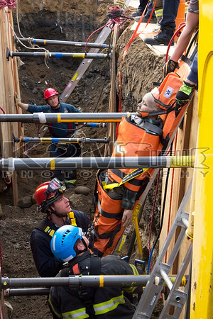 Trench Rescue Drill [11-30-14]