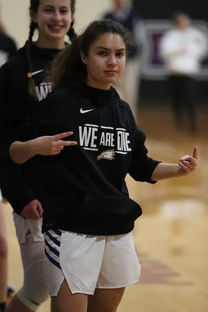 PCA Girls Hoop vs. Luth Westland Jan. 2020