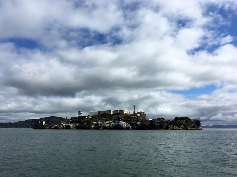 Morning views of Alcatraz