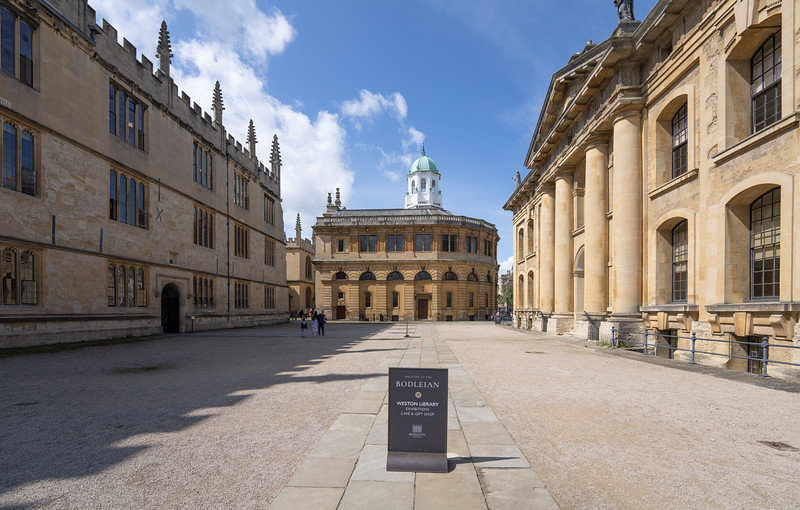 The Bodleian Library, Oxford (Aug 2021)