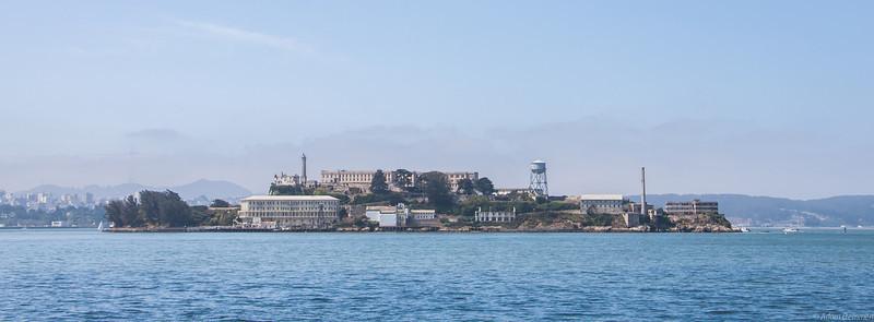 Alcatraz from the ferry