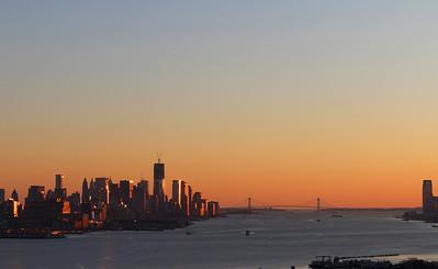 New York Skyline - Thanksgiving 2011