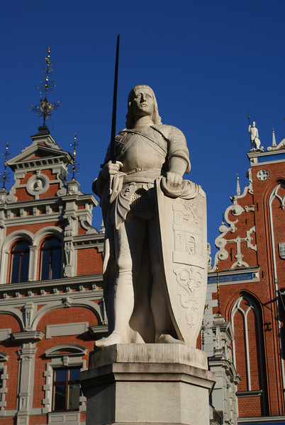 """""""Statue of the Fat Latvian Soldier.""""  (my name, not theirs)"""