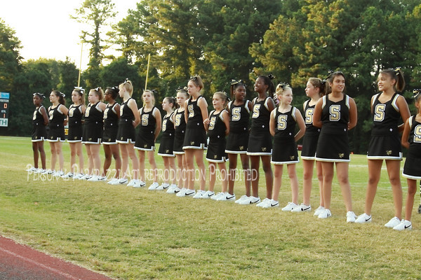 Sprayberry Jr Jacket Cheer Recognition September 09, 2010
