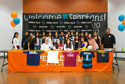Pebble Hills High School Nayeli Betancourt Signing
