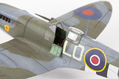 Tamiya Spitfire Mk IXc, Pierre Clostermann