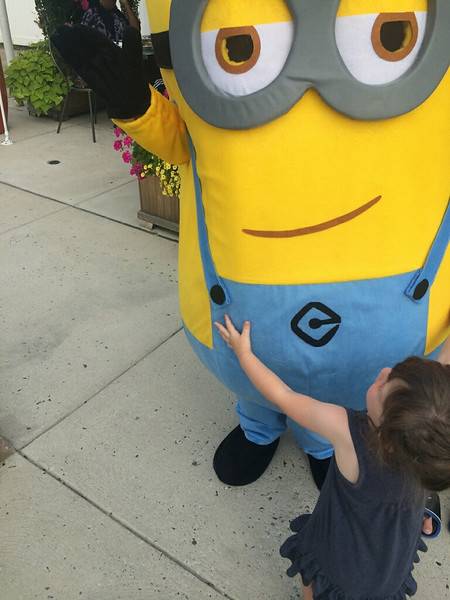 Avery with Minion