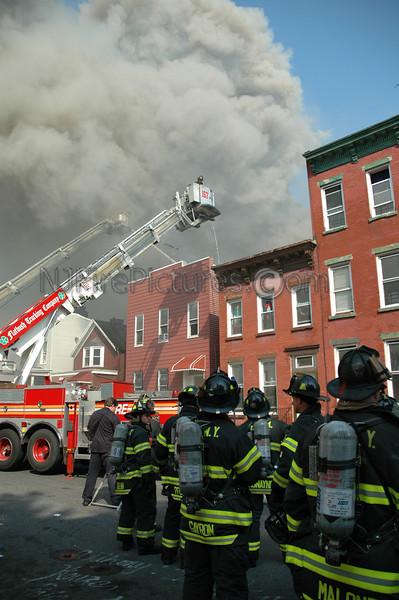 Brooklyn, NY 6 Alarm fire Dekalb & Bushwick Aves. Box 781 7/5/2004