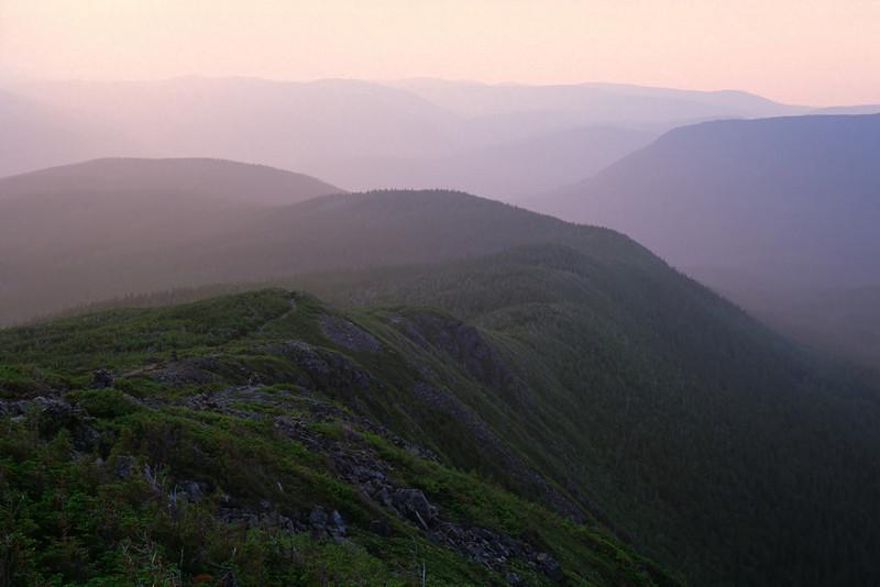 Sentier du mont Xalibu - Parc national de la Gaspésie, Québec