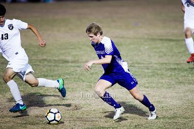Varsity Boys Soccer, Post-season at Woodward, April 27
