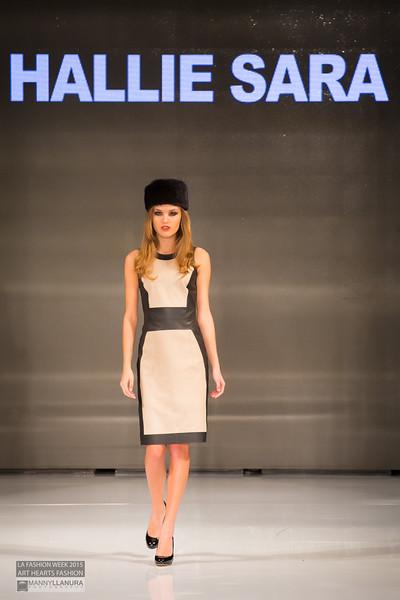 Hallie Sara LA Fashion Week 2015 Art Hearts Fashion