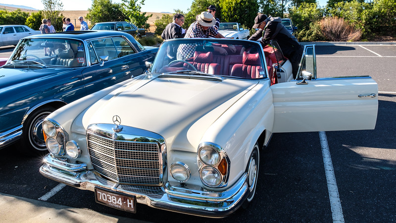 For ATB 2019-04 - Ray & Sue Lodder's fabulous W111.