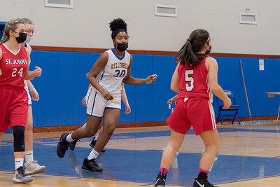 Girls Junior Varsity Basketball –2021