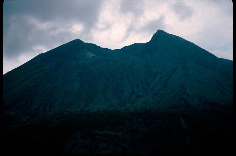 volcano has blown top