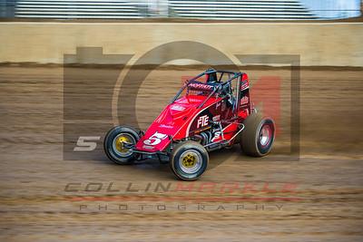 USAC National Sprintcars, Lawrenceburg Speedway, 10/1/2016