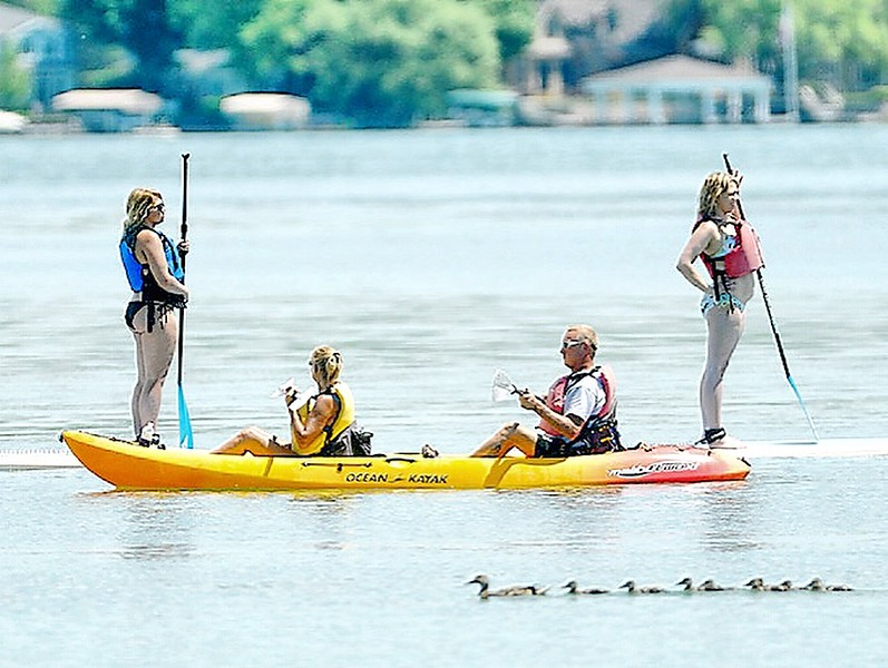 Jack Haley/Messenger Post MediaMany activities take place on Canandaigua Lake whether its having fun on the surface or taking the family on a trip.