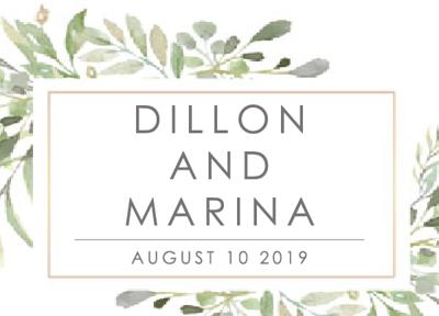 20190810 Dillon and Marina's Wedding