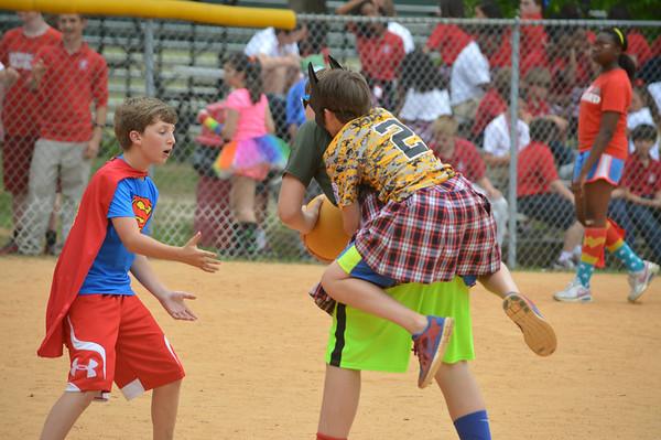 2014 7th - 8th Grade Kickball game
