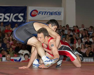 Greco-Roman Championships 66 Kg Glenn Garrison (U.S. Army) def. Frank Sahin (U.S. Army)