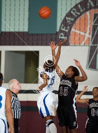 2009-11-19 Basketball Varsity Girls Dickinson vs Pearland