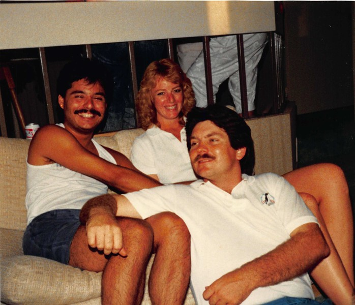 1988 creagan house party with denise west