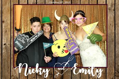 Nicky & Emily's Wedding 10/7/18