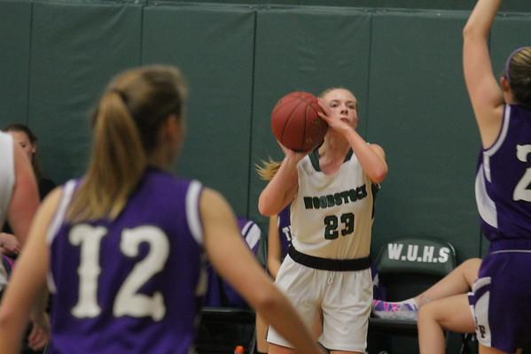 WUHS Girls Basketball vs BF, 2014