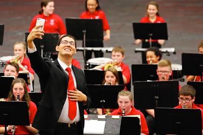 Danville Middle School Band Concert 2015