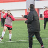 Gibraltar woman's national team football training sessions