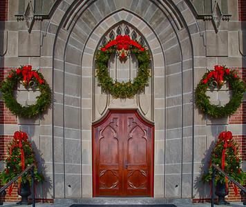 St. Mary's Parish Church - Franklin MA - Christmas