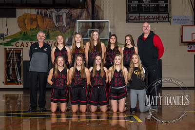 2018-19 Castle View Girls Basketball